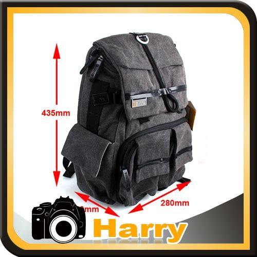 Sac photo professionnel DSLR/sac à dos photo de voyage pour tous les appareils photo sans miroir DSLR