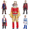 kids king costumes/ king cosplay costumes for boys/ boy performance clothing /children cosplay costumes NINE--PIECE