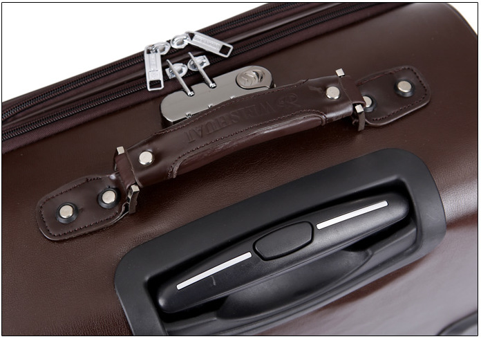 7483c6bc47225 16 commercial computer trolley leather spinner carry luggage sets travel  bag suitcase small soft luggage drag boxes carro-in Luggage Sets from  Luggage ...