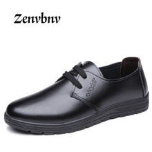ZENVBNV Brand Formal Dress Men Shoes Genuine Leather Brogue Business Classic Office Wedding Mens Casual Oxford Italian 38~44size