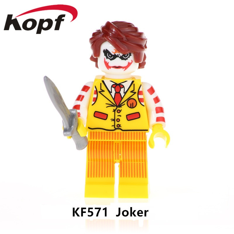Toys & Hobbies Have An Inquiring Mind Kf571 Buiding Blocks Super Heroes Brickss Joker Degger Cloak Iron Man Black Lightning Bricks Figures For Children Gift Toys An Enriches And Nutrient For The Liver And Kidney Blocks