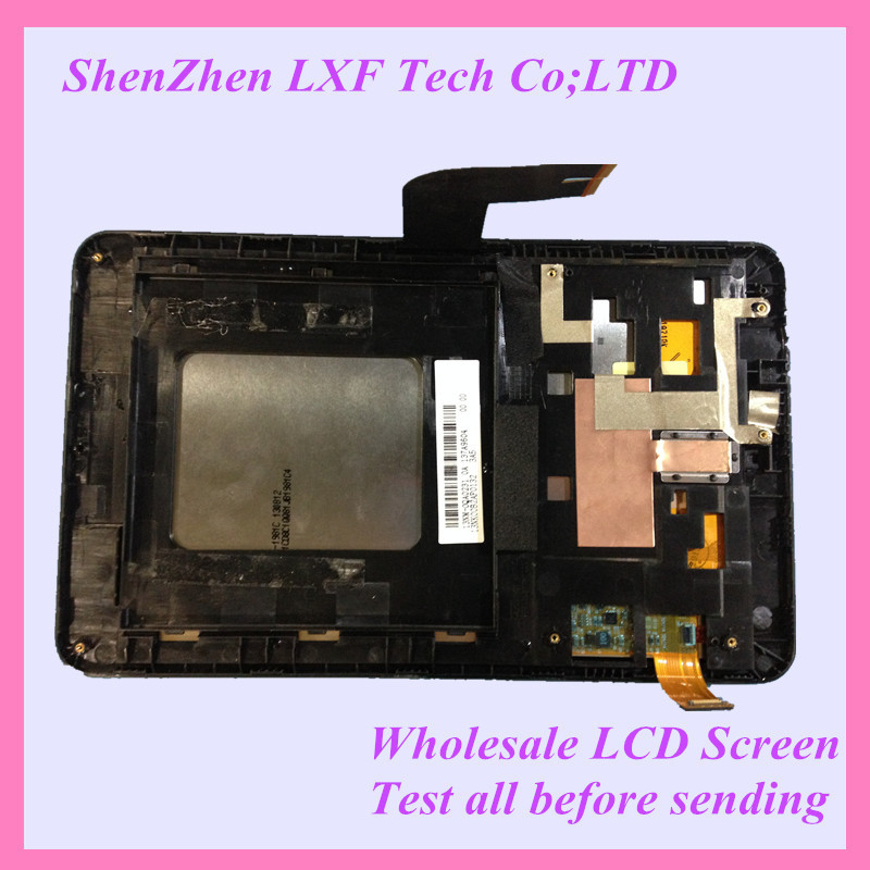 ФОТО Original For Asus MeMO Pad HD7 ME173 ME173X LCD Touch Panel Screen Replacment Assembly With Frame