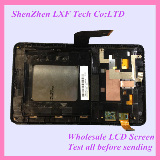 Original For Asus MeMO Pad HD7 ME173 ME173X LCD Touch Panel Screen Replacment Assembly With Frame