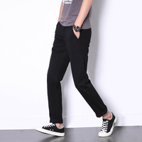 2017 New Summer Style Fashion Men Jeans Casual Pants Slim Fit Denim Cargo Pants Classic Style Youth Street Simple Leisure Jeans