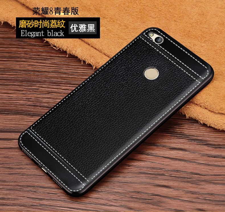 Leather Case for <font><b>Huawei</b></font> Honor 8 Lite <font><b>PRA</b></font>-TL10 <font><b>PRA</b></font> Phone Bumper Fitted Case for <font><b>Huawei</b></font> Honor8 Lite <font><b>PRA</b></font>-<font><b>LX1</b></font> <font><b>PRA</b></font>-LA1 Soft Cases image