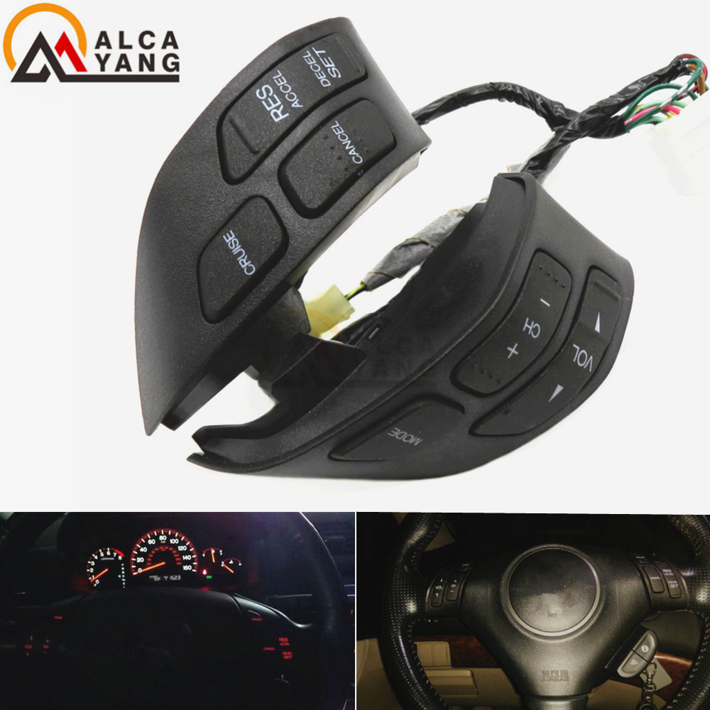 Malcayang 35880SDBA01ZA 35880 SDB A01 Steering Wheel Audio Control Switch For Honda Accord 2003 2007