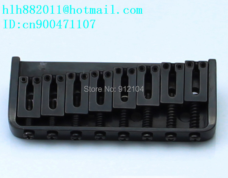 free shipping new 8 strings electric  guitar bridge in black  SU-17 free shipping new lp strings electric guitar bridge in black made in china 8205 1