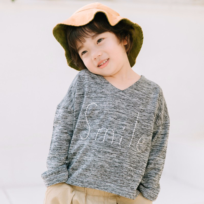 2018 Spring Kids T-shirts for girls Boys Long Sleeve Casual Loose Basic T-shirts for boys tshirt Baby girl Top Tee kids clothes