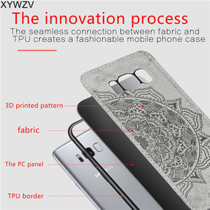 Image 5 - For Samsung Galaxy S8 Plus Case Luxury Soft Silicone Luxury Cloth Texture Hard PC Phone Case For Samsung Galaxy S8 Plus Cover