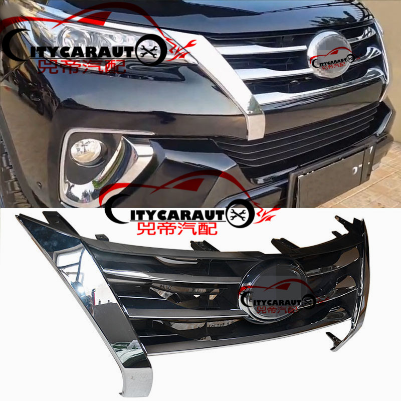 CITYCARAUTO FRONT RACING GRILL RAPTOR GRILLES FIT FOR FORTUNER GRILL ORIGINAL GRILLE