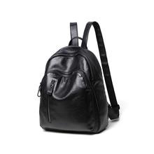 2017 натуральная кожа женские рюкзаки женские сумки на ремне Дизайнерские брендовые винтажные Новые корейские модные женские рюкзаки C239