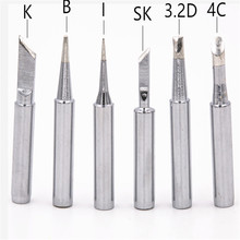 High quality silver copper Black 900M-T soldering iron tip Lead-free Solder tip 933.376.907.913.951,898D,852D+ 900m t 2c diamagnetic copper soldering iron tip lead free solder tip 933 376 907 913 951 898d 852d soldering station