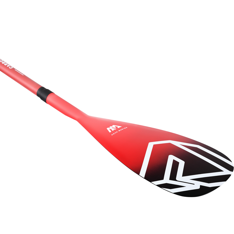 AQUA MARINA carbone PRO palette en fibre de verre pour SUP stand up paddle planche de surf réglable extensible 220cm rame T poignée A03007 - 5