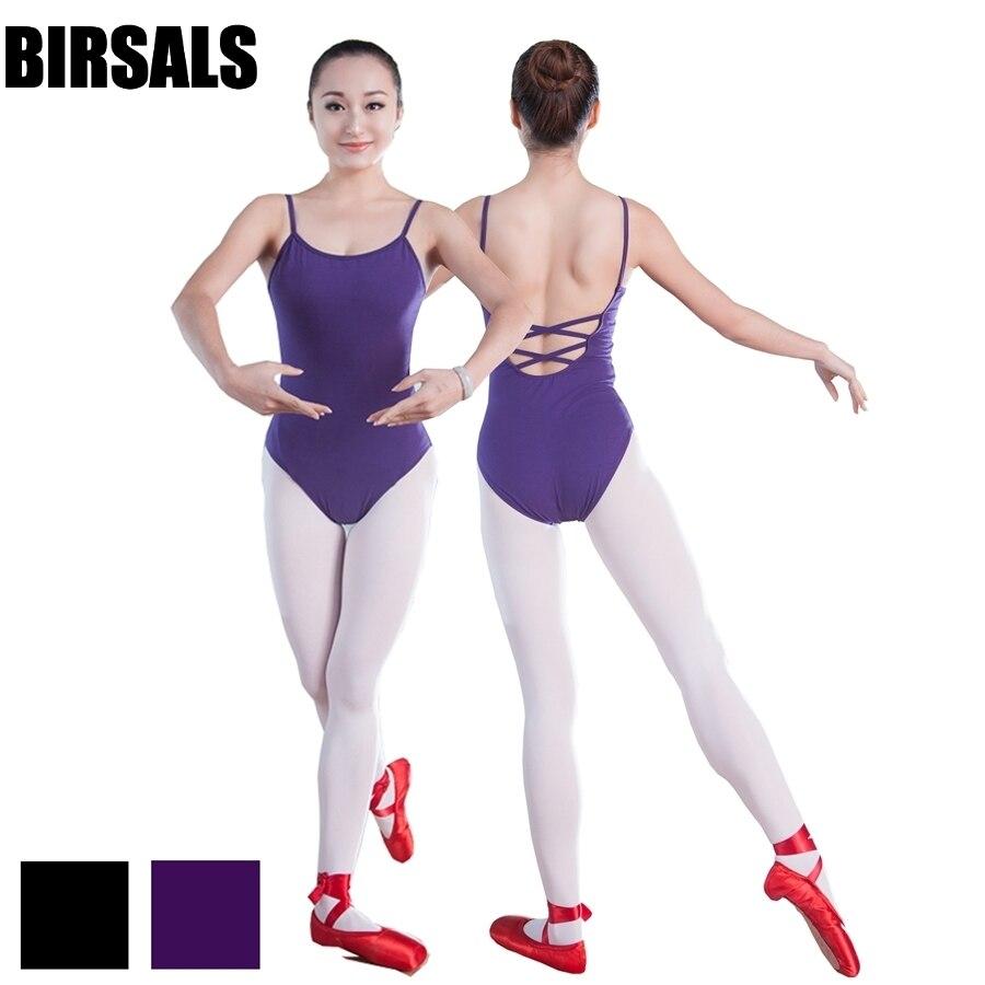 dark purple basic camisole ballet leotards for girls dance clothes leotards cotton dance gymnastics CostumeCS0118