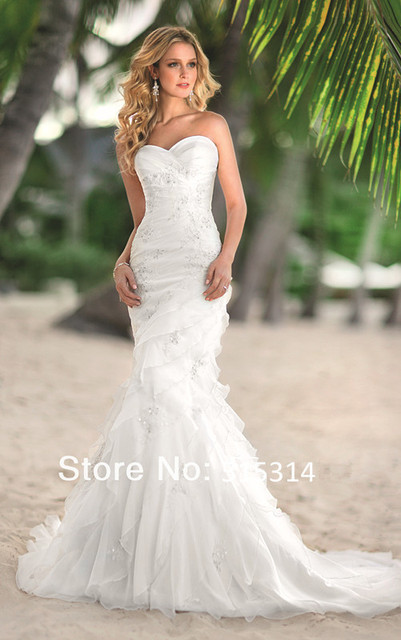 2017 Best Selling Wedding Dresses Gowns Custom Made Free Shipping Bs5