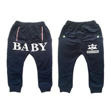 Dosoma autumn spring baby boy pants cotton cartoon leggings children casual pants 2 model kids sports trousers harem baby pants
