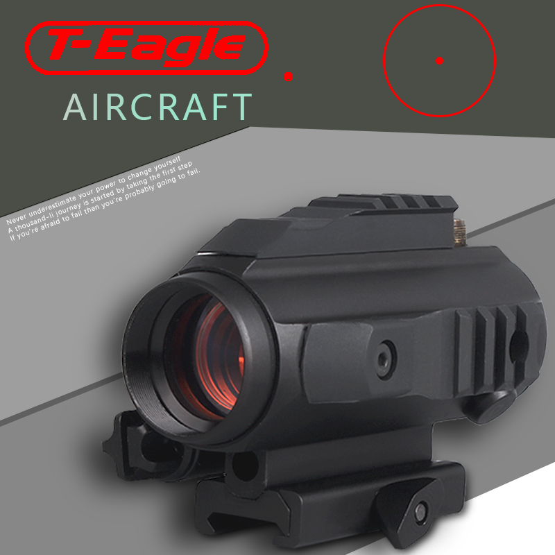 3 Sides Wave Rail Red Dot Hunting Riflescopes Tactical Collimator Holographic Sight Optic Sight Reflex Sight With 20mm Rail