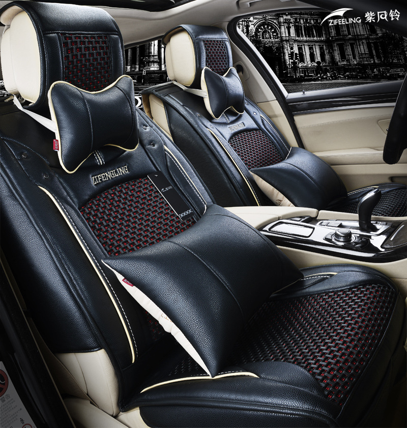 2015 new arrival universal car seat covers leather fit citroen c4 ford focus 2 volvo xc60 chery. Black Bedroom Furniture Sets. Home Design Ideas