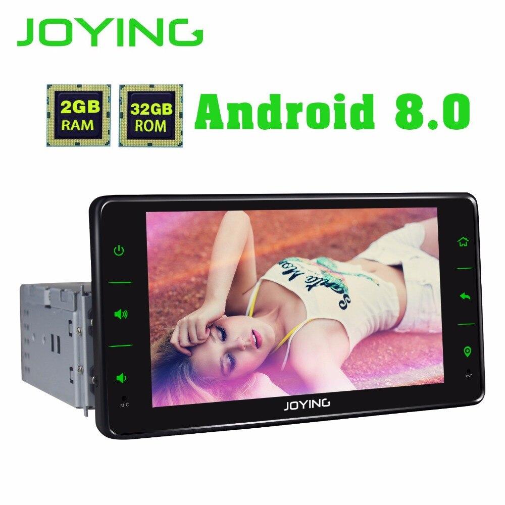 JOYING 6.2 pouce 2 gb RAM 32 gb ROM 8 CORE 1din Android 8.0 autoradio gps stéréo lecteur multimédia tablet tête unité soutien carplay