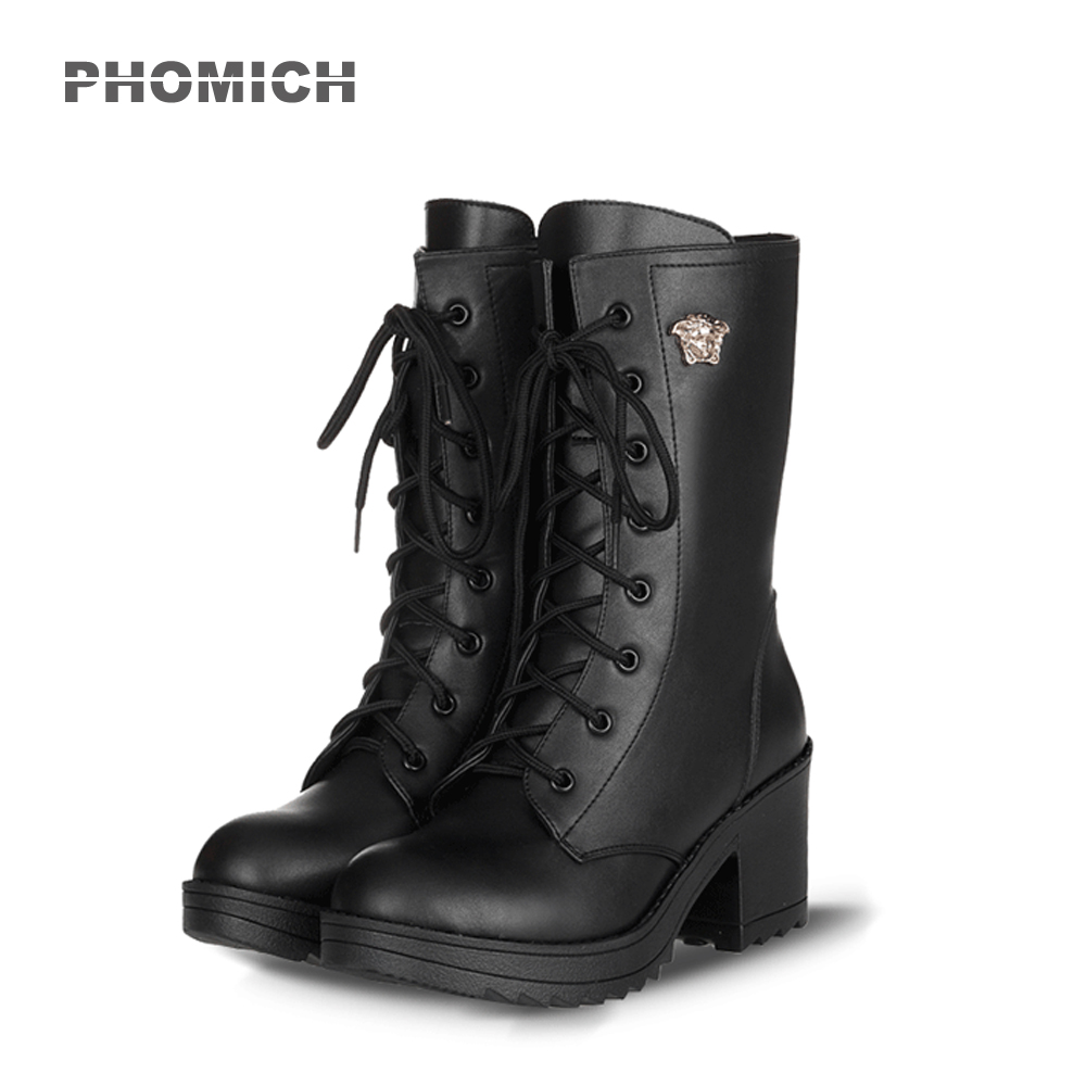2018 Motorcycle Boots New Women's Motocross Shoes PU Leather Flat Martin Boots Racing Boot Off-road Shoes Breathable off road lightweight breathable motorcycle road racing shoes boots genuine pro biker motorcycle riding boots
