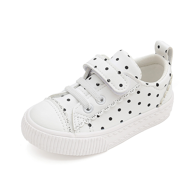 Wax Than Small Stars Kids Toddler Shoes 1-2-3 Years Old Boys And Girls Cute Baby Shoes Soft Bottom Casual Leather Shoes