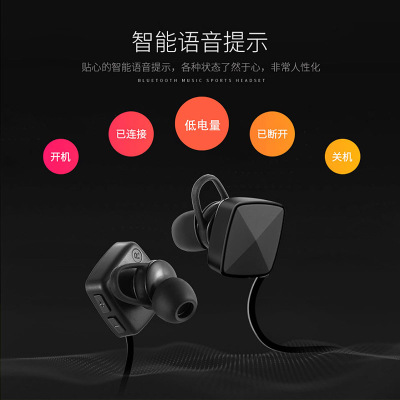 Sports earphone Bluetooth Headphones Wireless Headphones OutdoorSports Headphones Universal Bluetooth Phone, Sweat-proof Designe