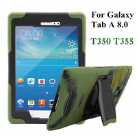 Hybrid Armor Tablet Case For Samsung Galaxy Tab A 8 0 T350 T355 Silicone Back Cover