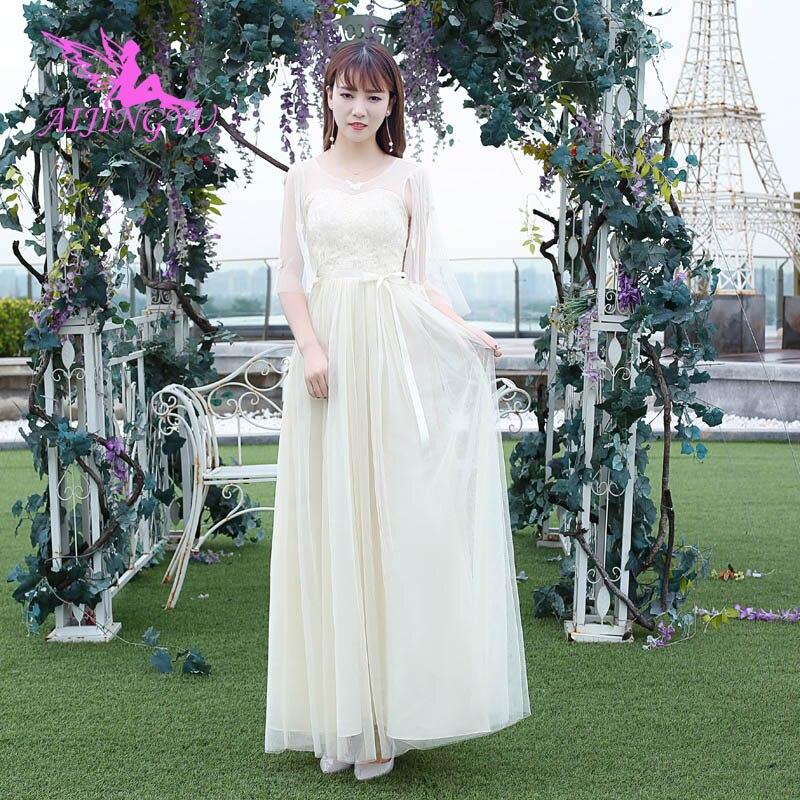 AIJINGYU 2018 Sexy Wedding Guest Party Prom Dress Bridesmaid Dresses BN970