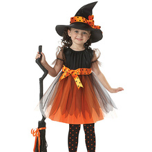 Children Europe and America girls cosplay witch anime dance performance clothing Halloween role-playing costumes kids cosplay star wars the force awakens imperial stormtrooper role playing costumes uniforms performance performance clothing