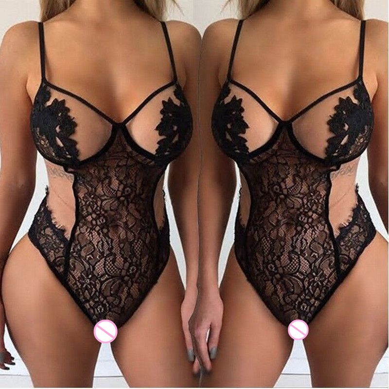 2018 New Women Teddy Sexy Lingerie Hot Porn Baby Doll Erotic Lingerie Women Exotic Apparel Sexy Costumes Underwear Nightwear