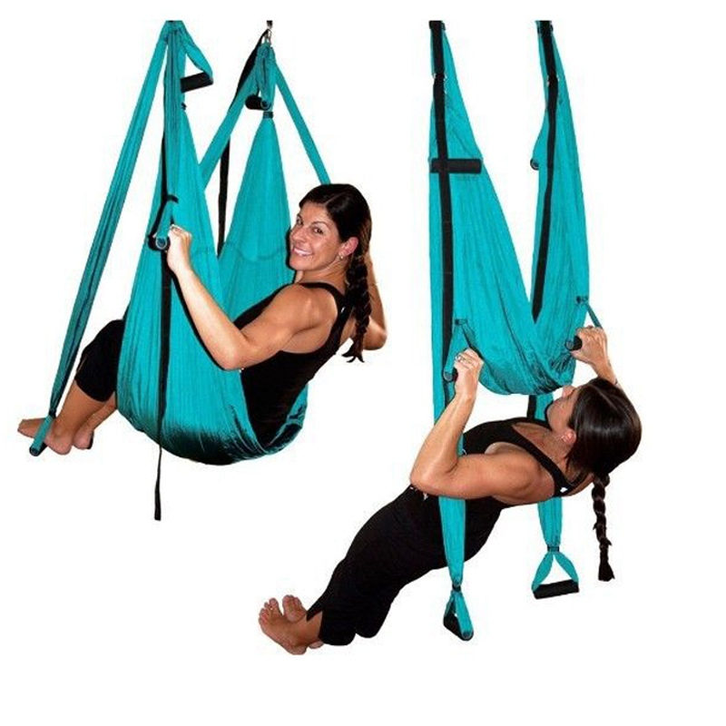 Top quality yoga strap yoga hammock gymnastics sports fitness equipment for font b health b font