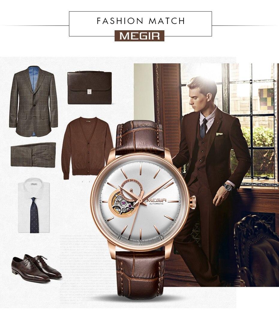 HTB1MMEiJuuSBuNjy1Xcq6AYjFXaA MEGIR Automatic Mechanical Watches Top Brand Luxury