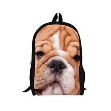 XINIU путешествия рюкзак Чемодан школы Рюкзаки для Обувь для мальчиков школьная сумка для ноутбука 3D животных печати сумка Mochila Hombre Бесплатная доставка #480