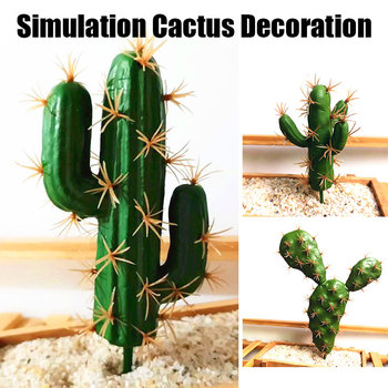 SOLEDI Balcony Fake Cactus Artificial Cactus Foam Fashion DIY Decoration Home Decor Simulation Succulent Ornament la palmyre zoo