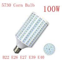 E26 E27 LED Lamp E39 E40 LED Bulb SMD5730 110V 220V 100W 264LEDs Corn Bulb Light Bulb Pendant Lighting Corn Spot Light