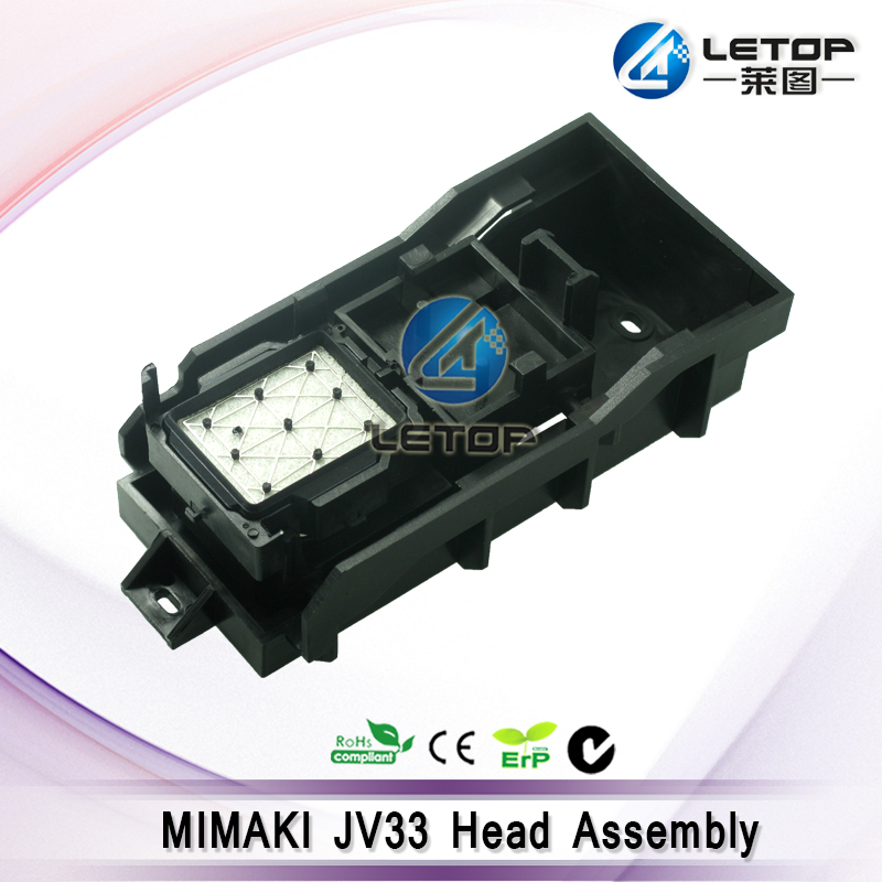Best price!! Push pull Eco Solvent dx5 printhead for Mimaki jv33 head assembly/mimaki cap assembly