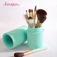 10pcs Professional Makeup Brushes Set High Quality Make Up Tools Foundation Powder Eyeshadow Kit Premium With