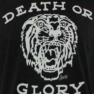 SAILOR JERRY Tattoo Death Or Glory Logo Slim Fit T-Shirt S M L XL XXL NEW Unisex Fashion T Shirts top tee