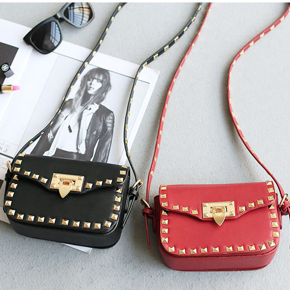 Aliexpress.com : Buy monedero cartera Pouch Mini Studded Sling Bag ...