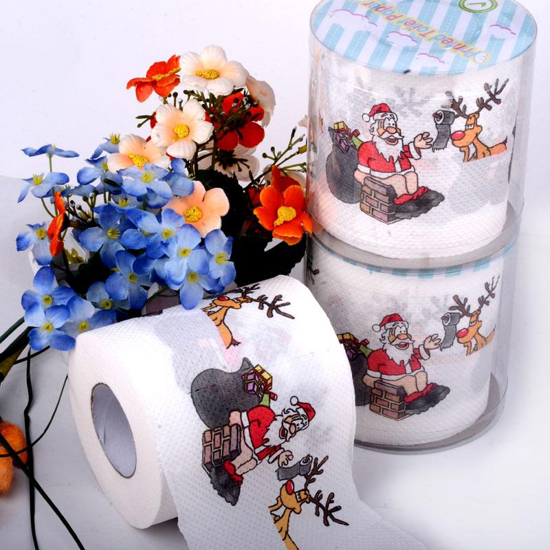 Achetez en gros papier de toilette de no l en ligne des grossistes papier d - Papier toilette noel ...