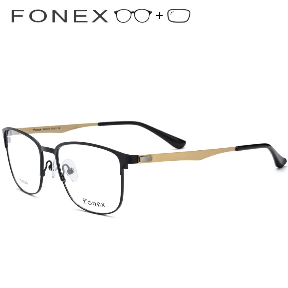 2019 Frauen Koreanische Voller Titan Vintage Schraubenlose Optische Myopie Männer Runde Legierung Brillen Rahmen TERaX