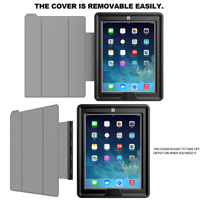 Za iPad Mini 1/2/3 Retina Kids Siguran oklop otporan na udarce - Dodaci za tablet - Foto 4