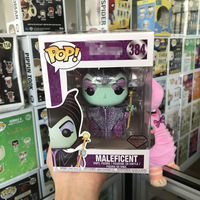 Exclusive FUNKO POP Official Maleficent Diamond Collection Vinyl Action Figure Collectible Model Toy with Original Box