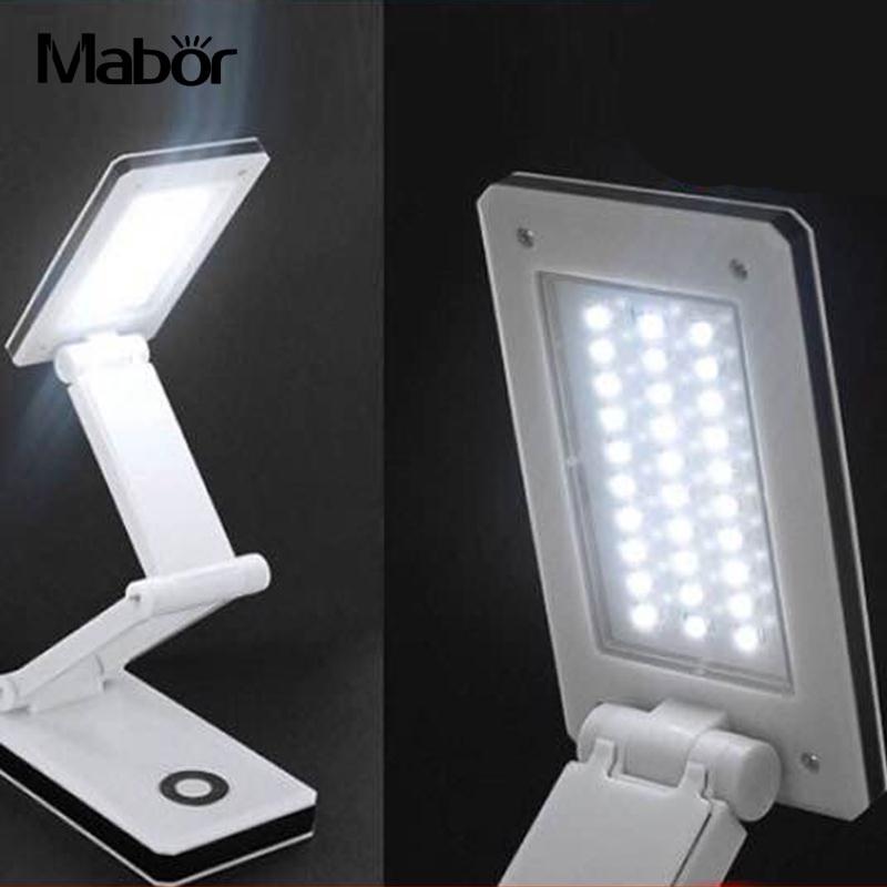 Mabor 30LED SMD Портативный складной Перезаряжаемые свет книга стол Чтение свет лампы