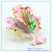 Wholesale Best Wedding Decoration Flower Shape Trinket Boxes  SCJ570