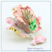 Wholesale Best Wedding Decoration Flower Shape Trinket Boxes  SCJ570