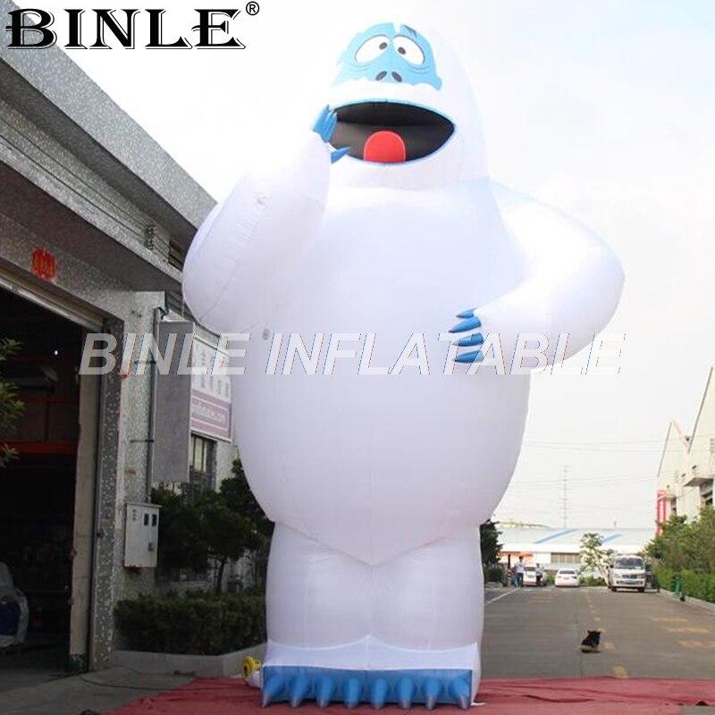 Offre Spéciale grand airblown bonhomme de neige gonflable géant gonflable bonhomme de neige monstre pour la publicité