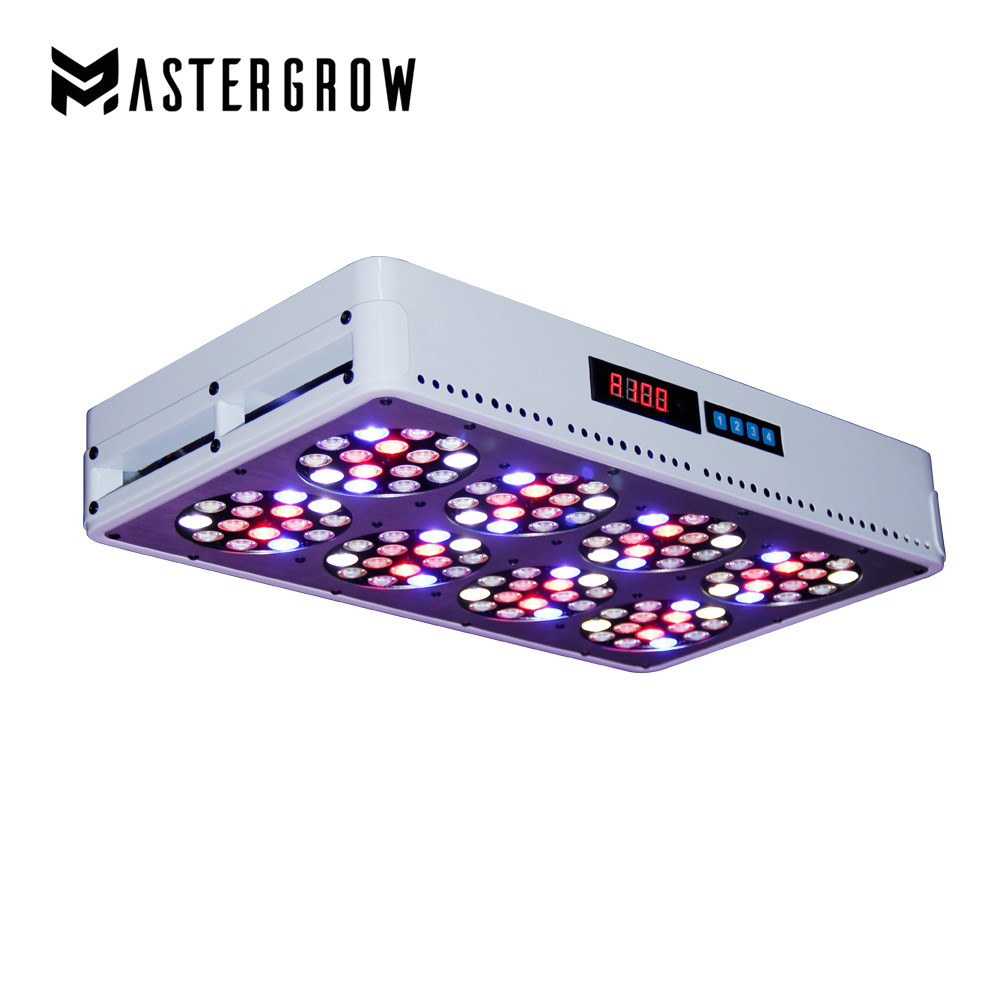 Dimmable Remote Control Apollo 8 Full Spectrum 600W LED Grow Light 10band For Indoor Plants Hydroponic System Greenhouse Tent