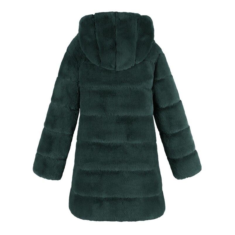 Zipper Winter Coat Women 2018 Sleeveless Fur Cashmere Hoodie Coat Girl Warm Pullover Thick Coat femenino #N28 (13)