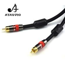 ATAUDIO 4N OFC 75ohm Hifi Digital Coaxial Audio Video Rca Cable